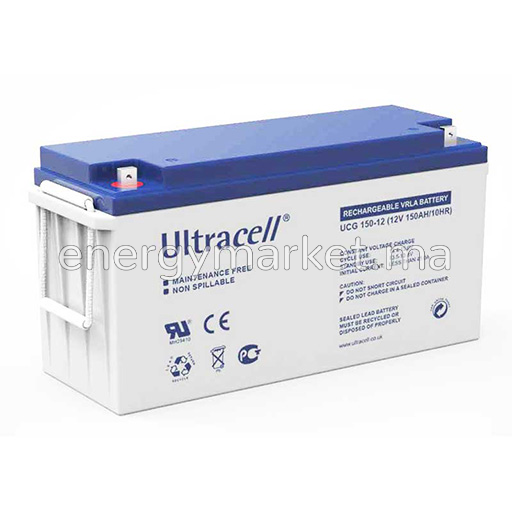 Batterie solaire Ultracell GEL 100-150-200-275 AH